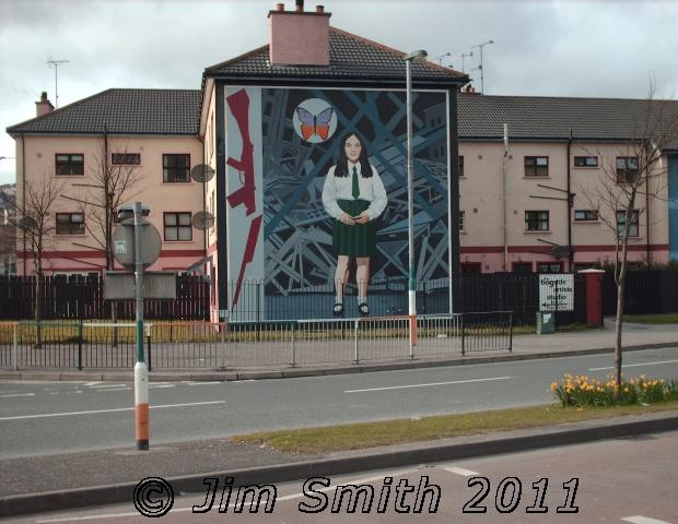 Death of innocence mural in derry northern ireland for Mural northern ireland